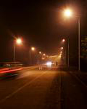 路灯照面工程