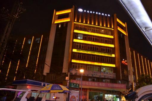 大楼灯光亮化案例